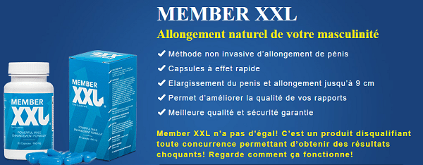 Member XXL avis et opinion de ceux qui ont utilisé ce produit